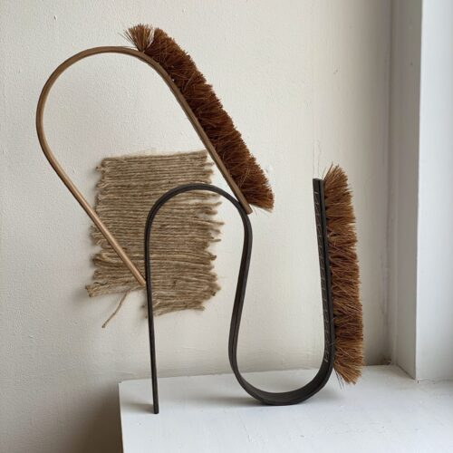 BUE BRUSH double bend