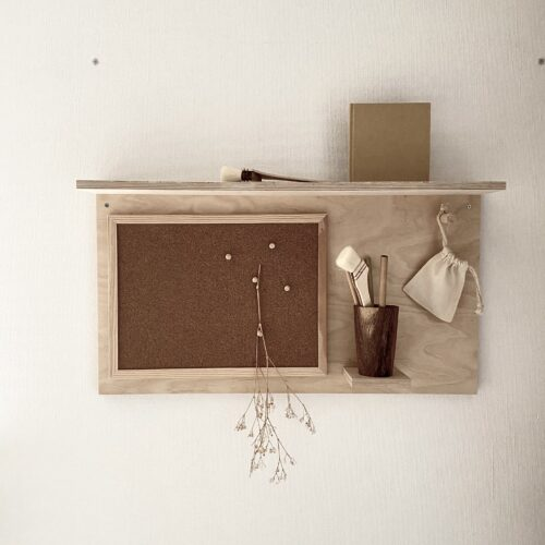MASARU note board & shelf